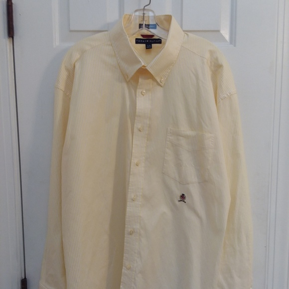 f85f3306 Tommy Hilfiger Shirts | Mens Shirt 80s 2 Ply Fabric | Poshmark